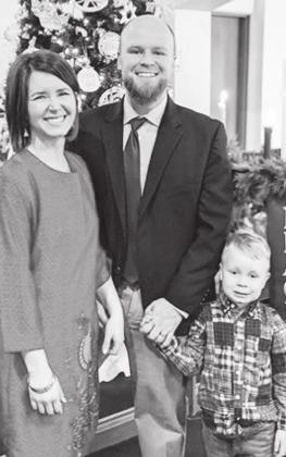 Benji Van Fleet is the newly appointed pastor at First United Methodist Church in Stanton. He is joined by his wife Anna and son Abe.